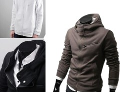Stylish Fashion Men's Designed Slim Fit Hoodies Coat Jacket Sweatshirt Tops Cndirect bester Fashion-Online-Shop aus China