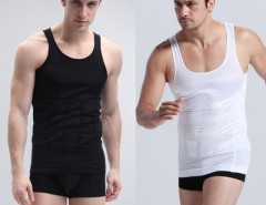 1pc Men Slimming Vest Shirt Corset Body Shaper Fatty Cndirect bester Fashion-Online-Shop aus China