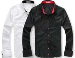 Men's Casual Slim fit Stylish Long Sleeve Shirts Luxury Cndirect bester Fashion-Online-Shop aus China