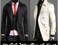 2016 Trends Men's Korea Slim Classic Double Breasted Wool Coat Jacket Cndirect bester Fashion-Online-Shop aus China