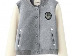 Stand Collar Jacket with Logo Detail Chicnova bester Fashion-Online-Shop aus China