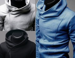 New Men 3 Colors Tops Zip Up hoodie Coats Jackets sweatshirt Blouse outwear Cndirect bester Fashion-Online-Shop aus China