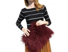 Faux Fur Clutch Bag Chicnova bester Fashion-Online-Shop aus China