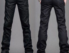 Mens Slim Fit Jeans Trousers Zipper Style Black Size 29~36 Cndirect bester Fashion-Online-Shop aus China