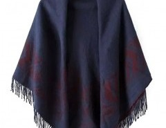 Jacquard Scarf with Tassel Ends Chicnova bester Fashion-Online-Shop aus China