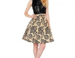 Vintage Jacquard Skirt Chicnova bester Fashion-Online-Shop aus China