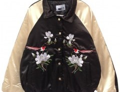 Embroidery Jacket with Batwing Sleeves Chicnova bester Fashion-Online-Shop aus China