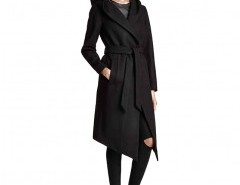 Belted Coat with Hood Chicnova bester Fashion-Online-Shop aus China