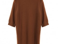 Round Neck Longline Sweater Chicnova bester Fashion-Online-Shop aus China