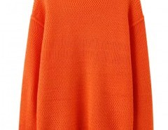 Round Neck Sweater with Side Splits Chicnova bester Fashion-Online-Shop aus China