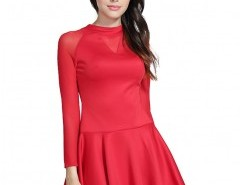 Fit and Flare Dress with Full Skirt Chicnova bester Fashion-Online-Shop aus China