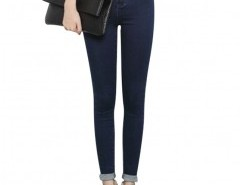 Skinny Jeans in Dark Wash Chicnova bester Fashion-Online-Shop aus China