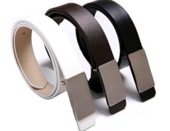 Fashion Korea Men's Faux Leather Stylish Casual Metal Buckle Belt Cndirect bester Fashion-Online-Shop aus China