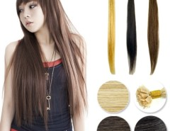 "50pcs Women's Girls 18"" / 20"" Flat tip hair Remy European Pre-bonded Human Hair Extension 3 Color Cndirect bester Fashion-Online-Shop China"