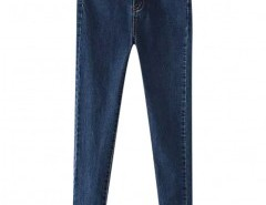 Preppy Style Skinny Jeans with Pockets Chicnova bester Fashion-Online-Shop aus China