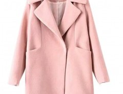 Long Sleeve Coat in Cocoon Fit Chicnova bester Fashion-Online-Shop aus China
