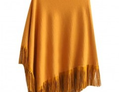 Asymmetric Fringed Cape Chicnova bester Fashion-Online-Shop aus China