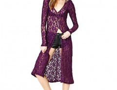Longline Cardigan in Lace Chicnova bester Fashion-Online-Shop aus China