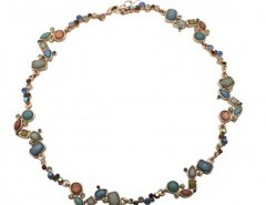 Stone Necklace with Multi Color Pendants Chicnova bester Fashion-Online-Shop aus China