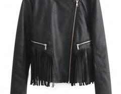 Biker Jacket with Zip Detail Chicnova bester Fashion-Online-Shop aus China