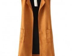 Fringe Vest with Pockets Chicnova bester Fashion-Online-Shop aus China