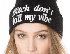 Beanie Hat in Rib Chicnova bester Fashion-Online-Shop aus China