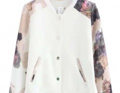 Stand Collar Floral Jacket Chicnova bester Fashion-Online-Shop aus China