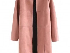 Long Sleeved Suede Coat Chicnova bester Fashion-Online-Shop aus China