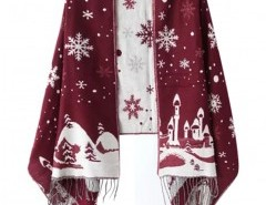 Snowflake Jacquard Scarf Chicnova bester Fashion-Online-Shop aus China