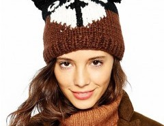 Teddy Design Knit Hat Chicnova bester Fashion-Online-Shop aus China