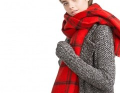 Blanket Scarf in Red Plaid Check Chicnova bester Fashion-Online-Shop aus China