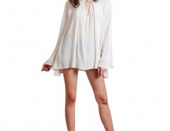 Long Sleeve V-neck Blouse Chicnova bester Fashion-Online-Shop aus China