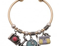 Slim Bracelet with Mixed Pendants Chicnova bester Fashion-Online-Shop aus China