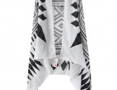 Stripe Print Cape Chicnova bester Fashion-Online-Shop aus China