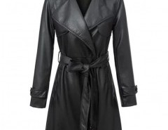 Notch Lapel Belted Coat Chicnova bester Fashion-Online-Shop aus China