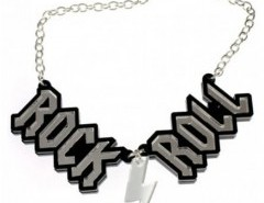 ROCK ROLL Pendant Necklace Chicnova bester Fashion-Online-Shop aus China