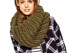 Cable Knit Infinity Scarf Chicnova bester Fashion-Online-Shop aus China