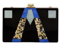 Clip Top Clutch Bag in Color Block Chicnova bester Fashion-Online-Shop aus China