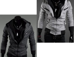 2016 Trends New Korean Men Slim Casual Hooded Coat Jacket Outwear Cndirect bester Fashion-Online-Shop aus China
