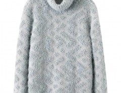Chunky Knit Sweater with Roll Neck Chicnova bester Fashion-Online-Shop aus China