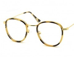Round Optical Glasses in Fine Frame Chicnova bester Fashion-Online-Shop aus China