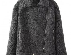 Faux Shearling Aviator Bomber Jacket Chicnova bester Fashion-Online-Shop aus China