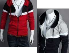 2016 Trends Men's Fit Long Sleeve Hood Coat Cndirect bester Fashion-Online-Shop aus China