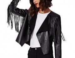 PU Biker Jacket With Fringing Chicnova bester Fashion-Online-Shop aus China