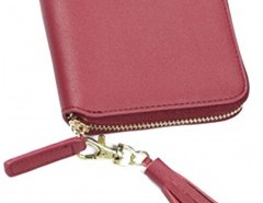 Zip Around Purse with Tassel Detail Chicnova bester Fashion-Online-Shop aus China