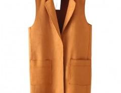 Lapel Vest with Fringe Chicnova bester Fashion-Online-Shop aus China