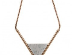 Short Triangle Pendant Necklace Chicnova bester Fashion-Online-Shop aus China