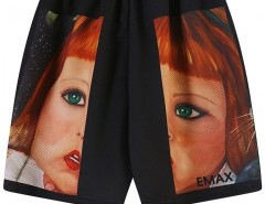 Straight Shorts with Vivid Print Chicnova bester Fashion-Online-Shop aus China