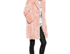 Longline Faux Fur Coat Chicnova bester Fashion-Online-Shop aus China