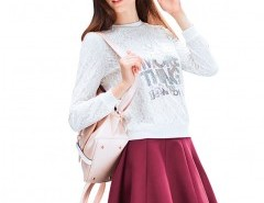 Pleated Mini Skirt Chicnova bester Fashion-Online-Shop aus China